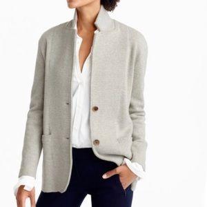 J.Crew | Grey Sweater Blazer Jacket  Size S